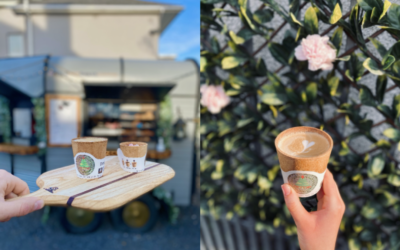 Coffee Truck Now Using Edible Cups In A New Sustainability  Move